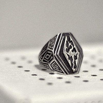pas mal riche et magnifique sans précédent 925 Silver Men and Women Ring Iron Dragon by Smirnovjeweller ...
