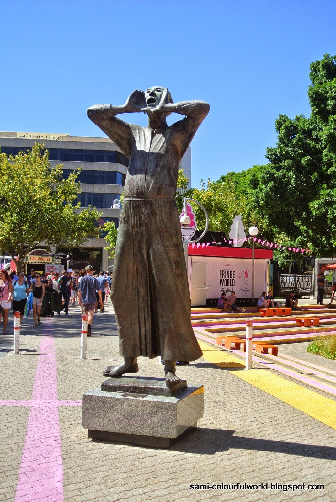 sami's colourfulworld: Public Art Perth