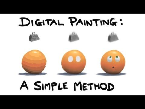 Digital Painting A Simple Method For Beginners And Maybe Experts