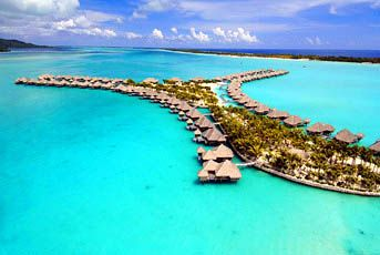 Tahiti, Over The Water Bungalow