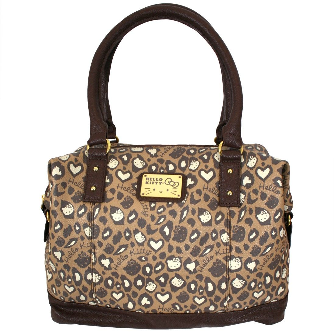 3956fe436 Hello Kitty Brown Leopard Top Slouchy Hand Bag - Hello Kitty - Brands