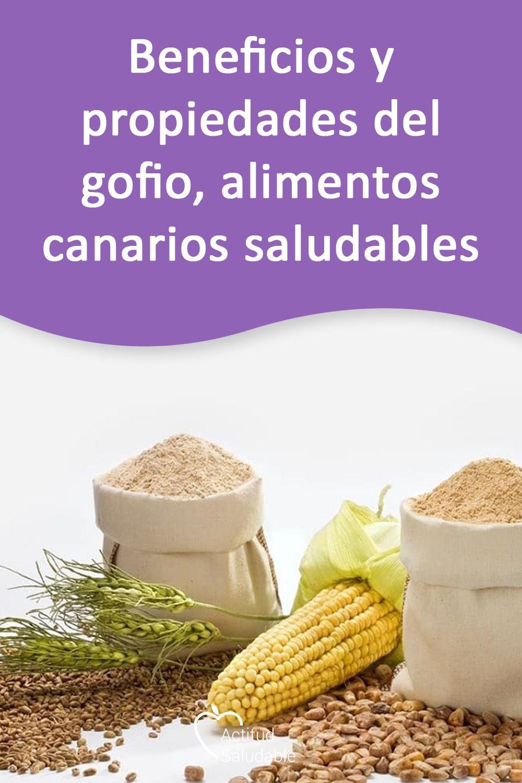 Beneficios Y Propiedades Del Gofio Alimentos Canarios Saludables Alimentos Nutritivo Tabla De Dieta