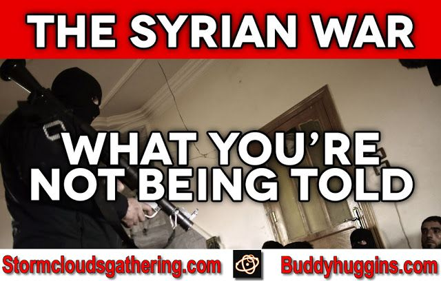 I AM Buddy, The BUDDHA From Mississippi ™: The Syrian War What You're Not Being Told