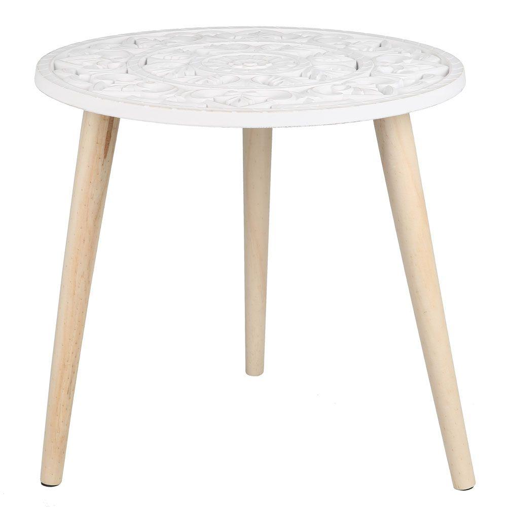 Beistelltisch Mit Ornamenten Rund Jetzt Bestellen Unter Https Moebel Ladendirekt De Wohnzimmer Tische Beistelltische Uid Beistelltische Beistelltisch Tisch