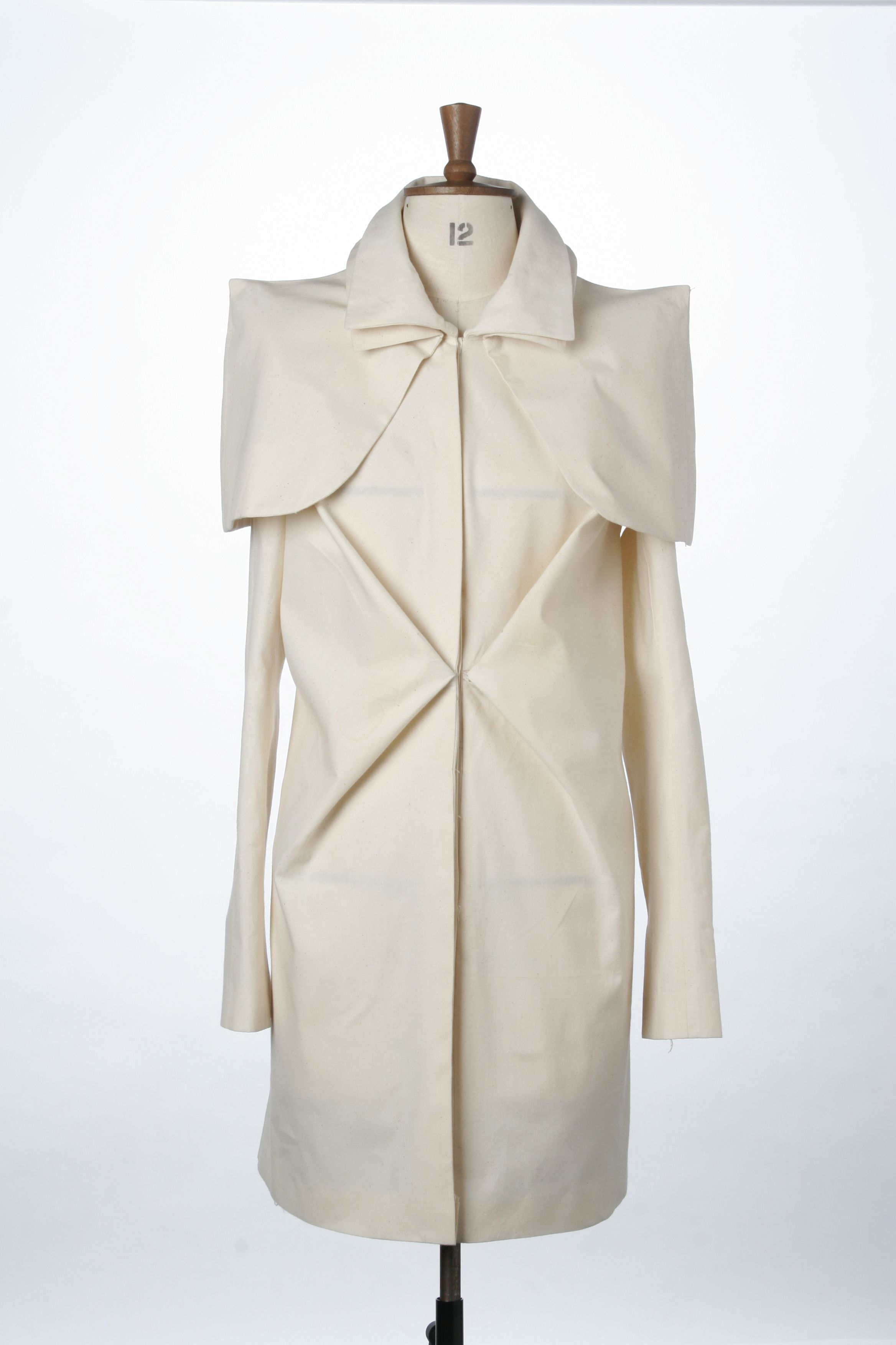 Creative Pattern Cutting - origami coat with double collar ... - photo#5