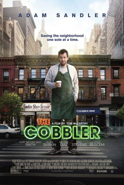 The Cobbler Movie Poster 3 Adam Sandler Comedy Movies Cobbler