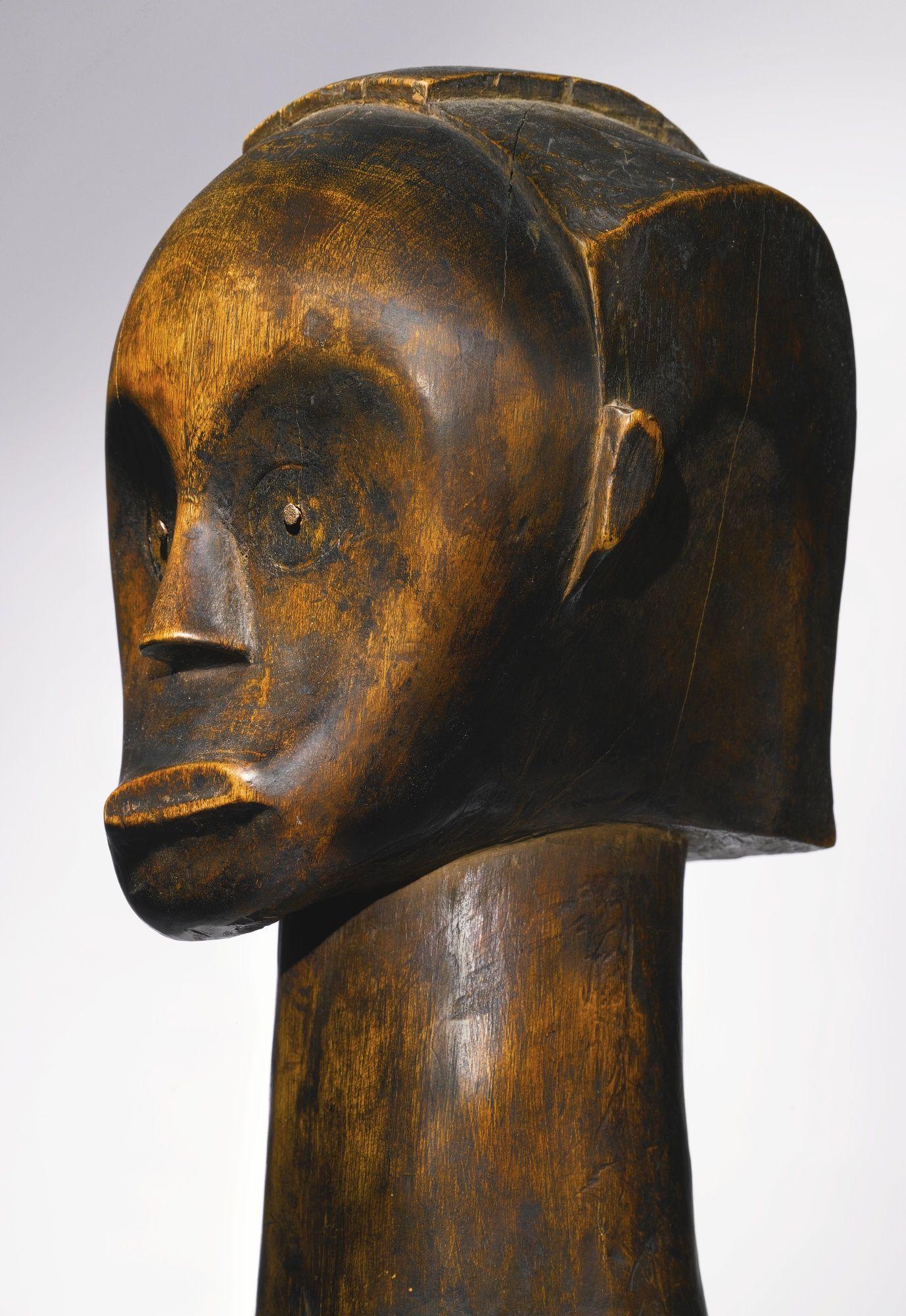 Fang Reliquary Head, Gabon   lot   Sotheby's