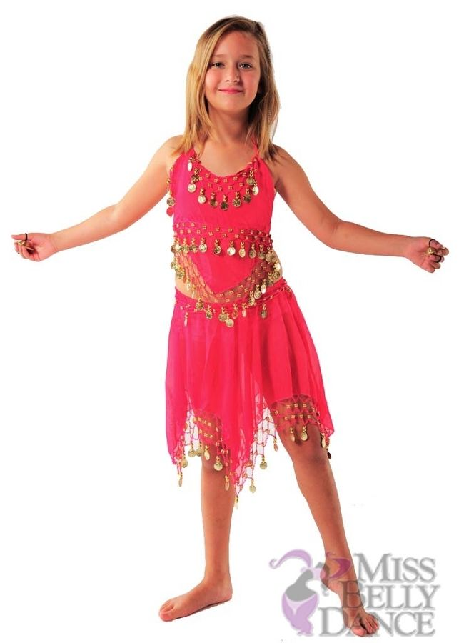 1bba87510a35 Belly Dancer Kid Children Costume | Top-Skirt Set | Ya Binti Black, red,  fuchsia, turquoise, $24.99 Missbellydance.com