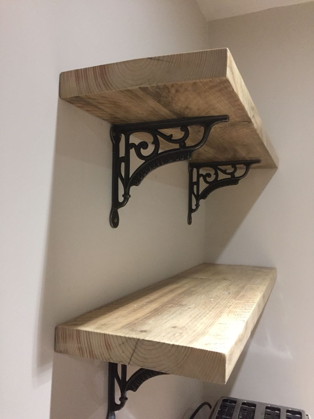 Scaffold Board Shelves Pinteres