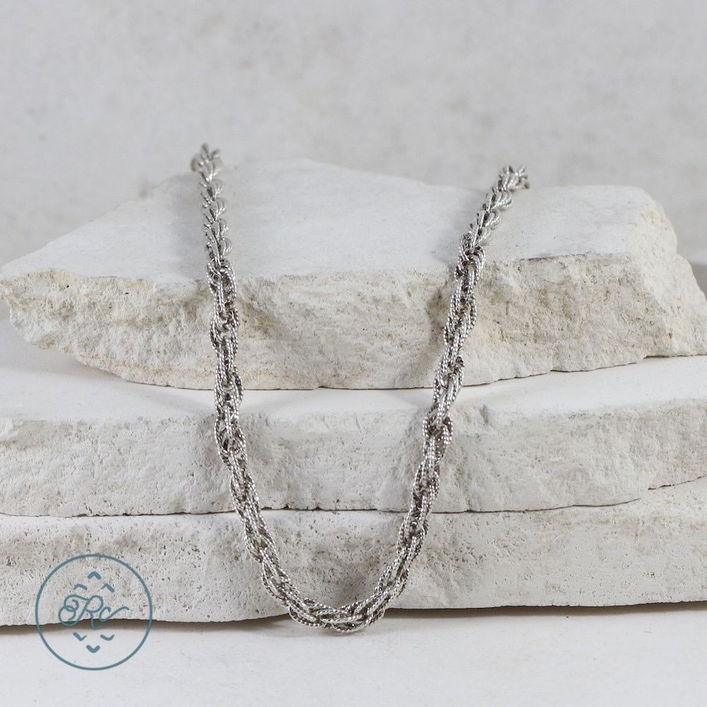 necklace silver item in chains men mens necklaces fashion link plated from jewelry figaro chain wholesale curb