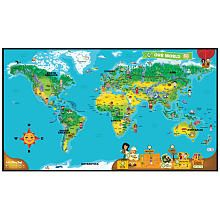 LeapFrog TAG Sided Interactive World Map LeapFrog Toys R - Map to toys r us
