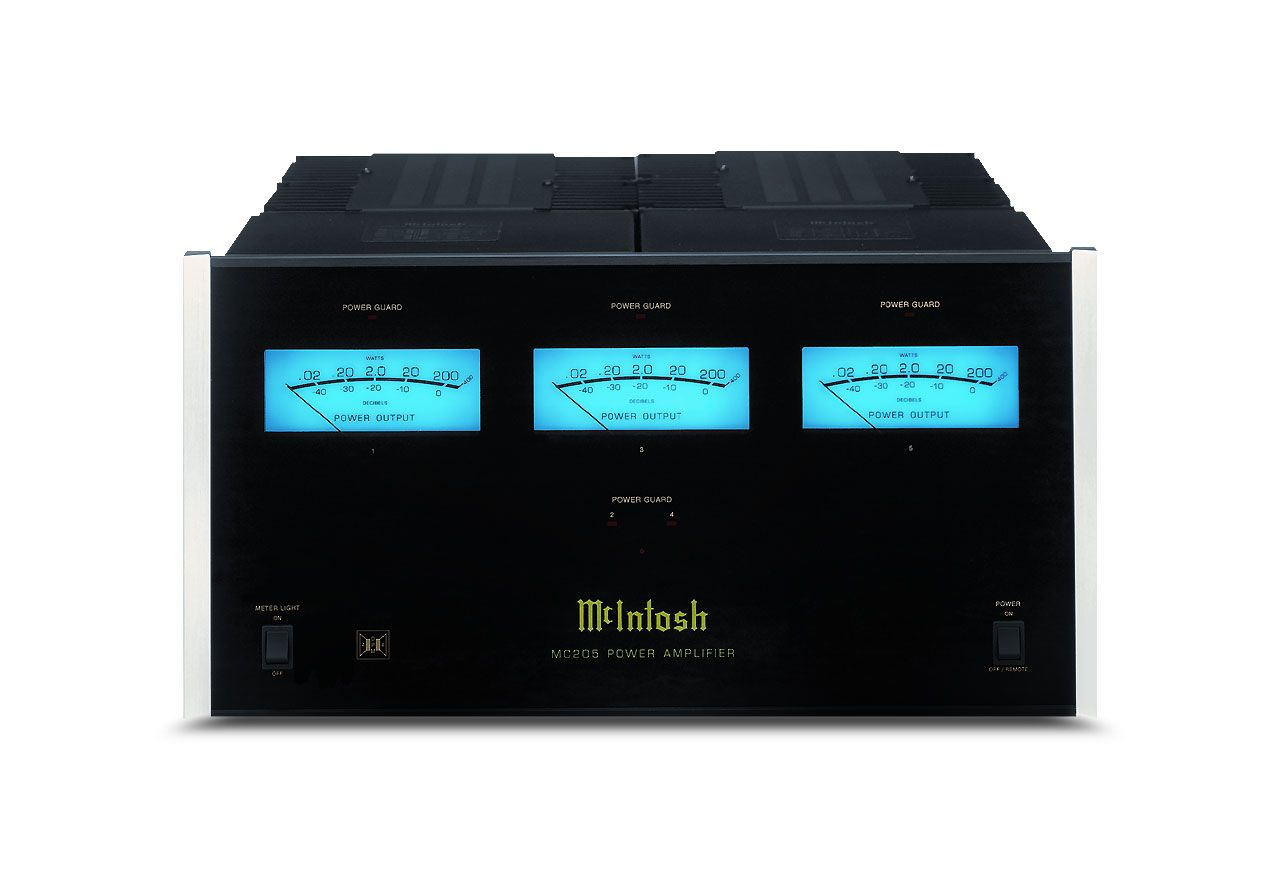 Mcintosh Mc205 Amplifier 5 Channel Amps Amp Wiring Kit