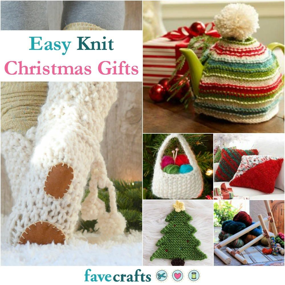 36 Easy Knit Christmas Gifts Christmas Gifts Knitting Christmas Knitting Knit Christmas Ornaments