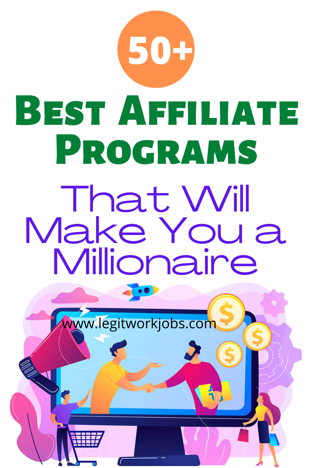 The Best 50 Affiliate Programs That Will Make You a