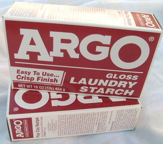 New 16 Oz Box Argo Gloss Laundry Starch Play Clay By 2pinkpigs