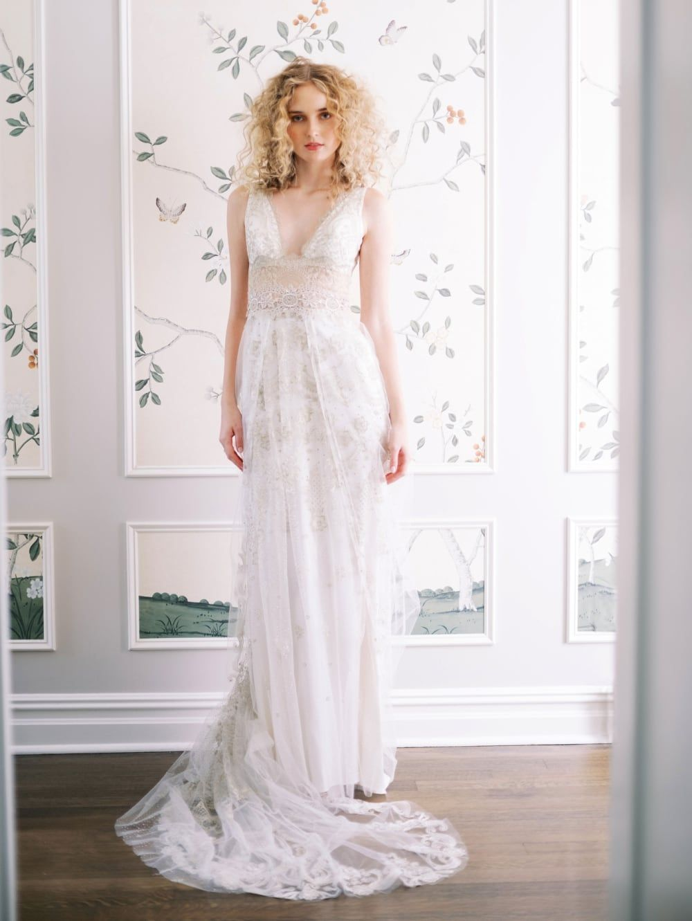 Claire Pettibone Wedding Dresses Evolution 2020 In 2020 Wedding Dresses Wedding Dress Couture Column Wedding Dress