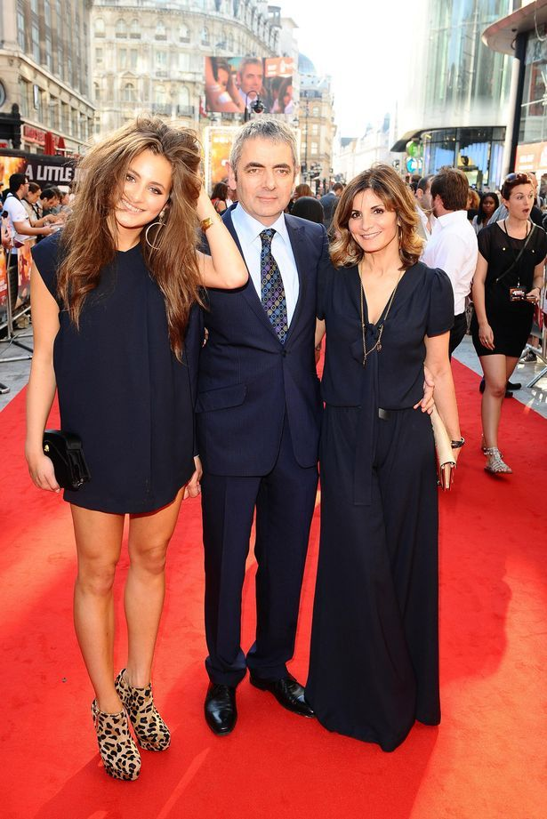 How Rowan Atkinson Is Making Daughter Lily S Pop Star Dreams Come True Rowan Atkinson Daughter Johnny English Reborn Mr Bean