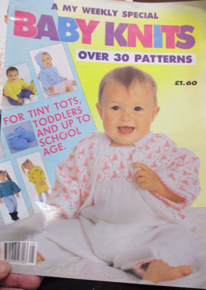 My Weekly Special Baby Knits Over 30 Patterns Tiny Tots To Toddlers Pb