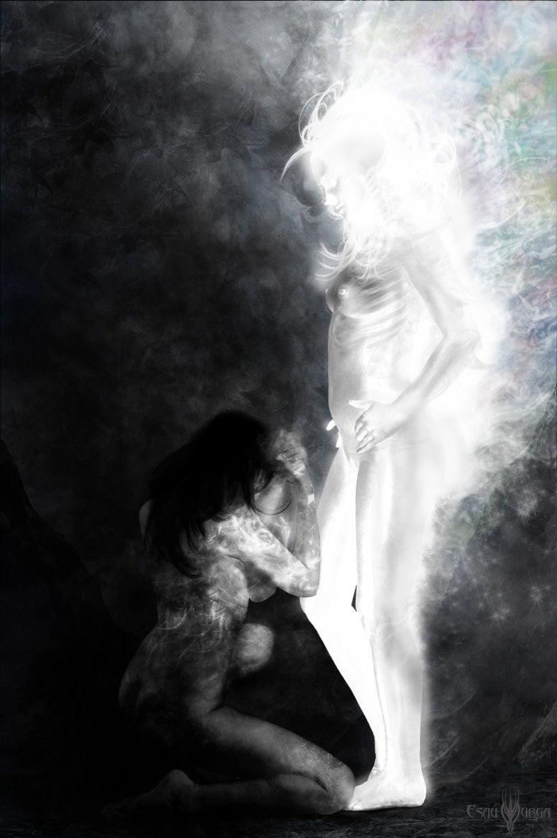 Light Vs Dark by Esau13.deviantart.com #Digital Art ... for Dark Vs Light Art  589ifm
