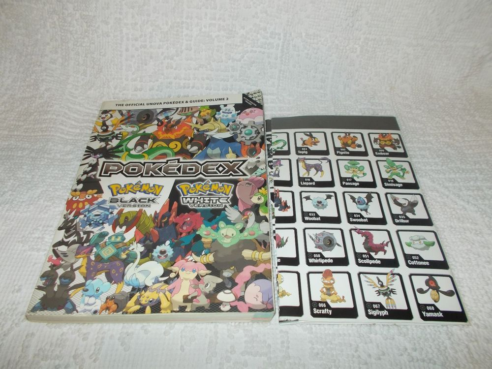 Pokemon Black And White 2 Guide Book