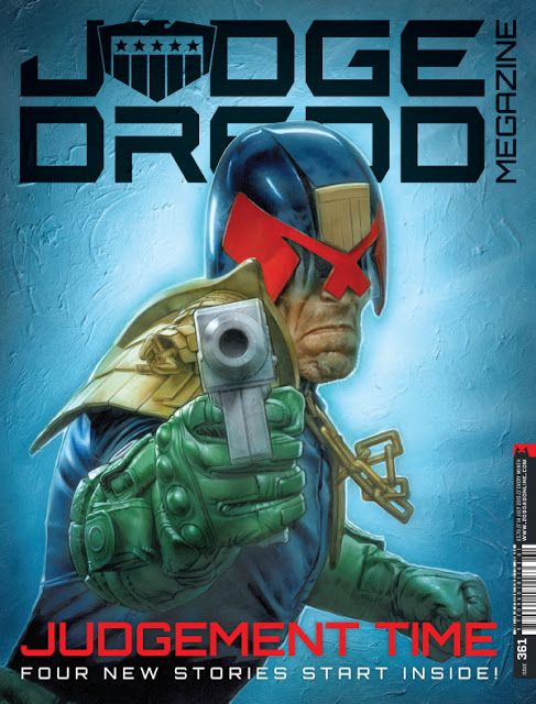 Dredd gets a new look