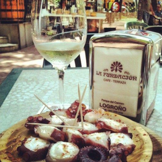 Fiesta del Pulpo - Bar La Fundación #Logroño #LaRioja