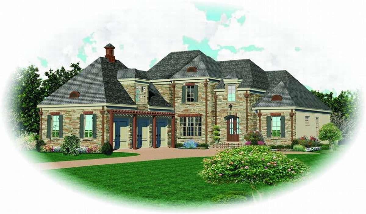 Luxury House Plan 053