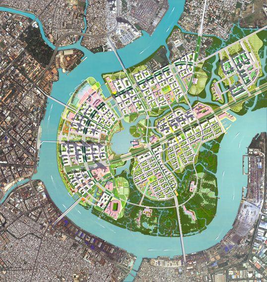 Thu Thiem New Urban Area Sasaki Associates Inc – Site Planning Site Development Inc