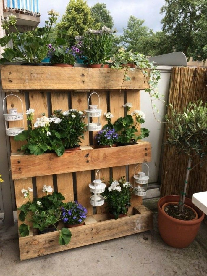 Gartendeko basteln Naturmaterialien - 35 Beispiele, wie Sie den Garten aufpeppen