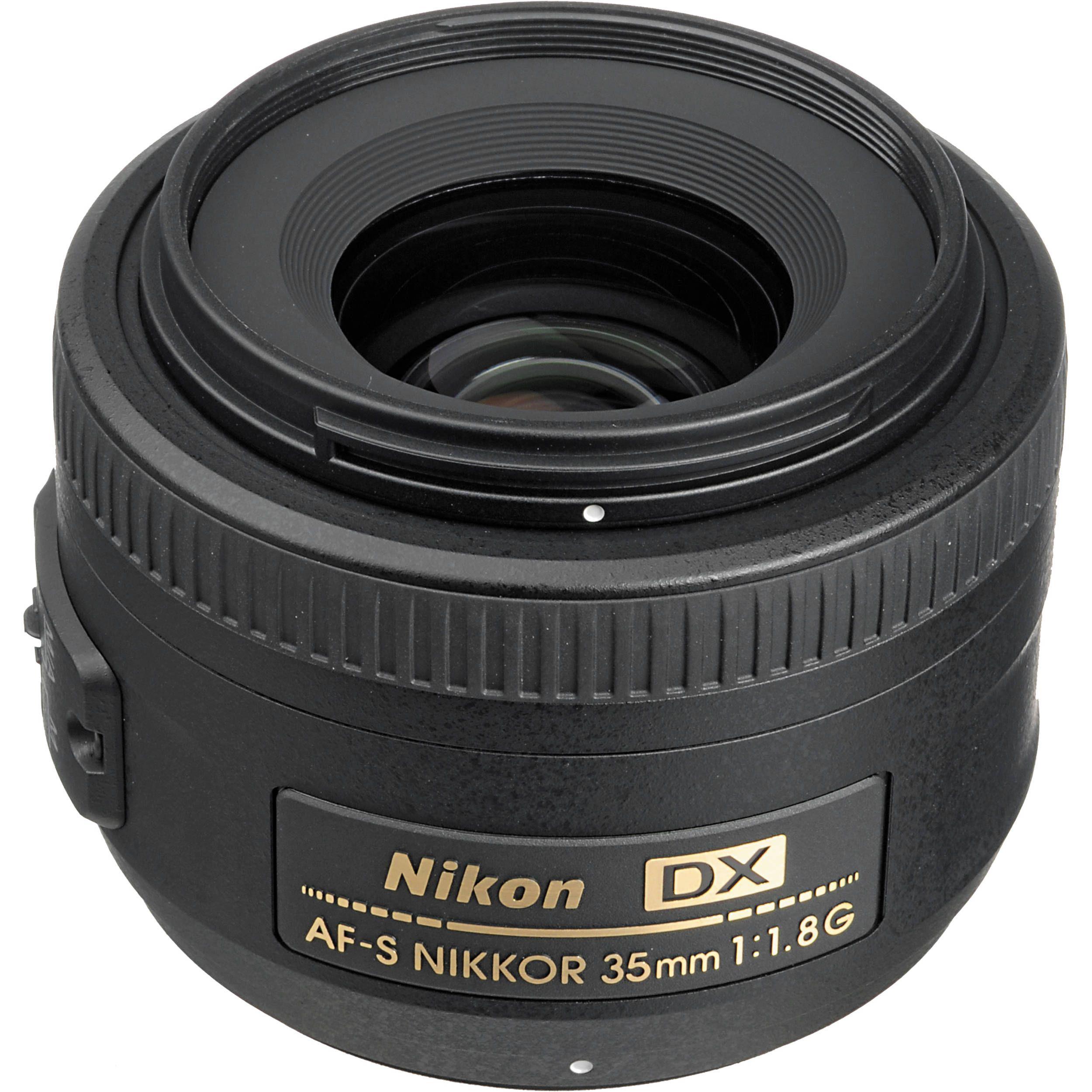 Nikon Af S Dx Nikkor 35mm F 1 8g Lens Nikon 35mm Digital Camera Nikon Digital Slr