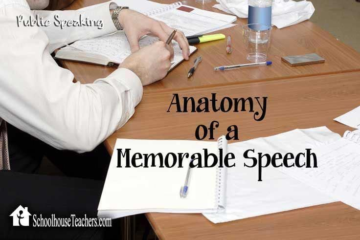 Your Student Will Most Likely Need To Make A Speech Or A