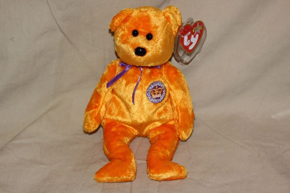7e59f441ac7 TY BEANIE BABIES CELEBRATIONS THE QUEENS GOLDEN JUBILEE BEAR NEW WITH TAG  2002  TY  BeanieBaby