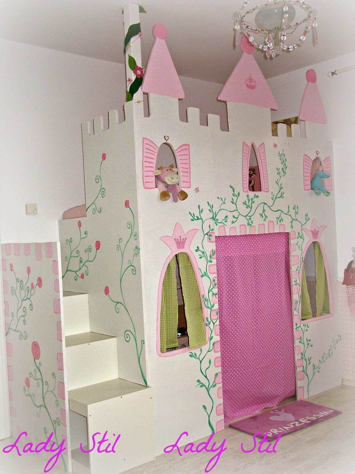 Zimmereinblick der Kleinen | Girl\'s Bedroom Ideas | Kinder ...