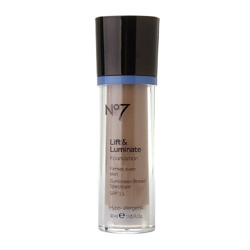 Boots No7 Lift Luminate Foundation Wheat 101 fl oz 30 ml ** Read