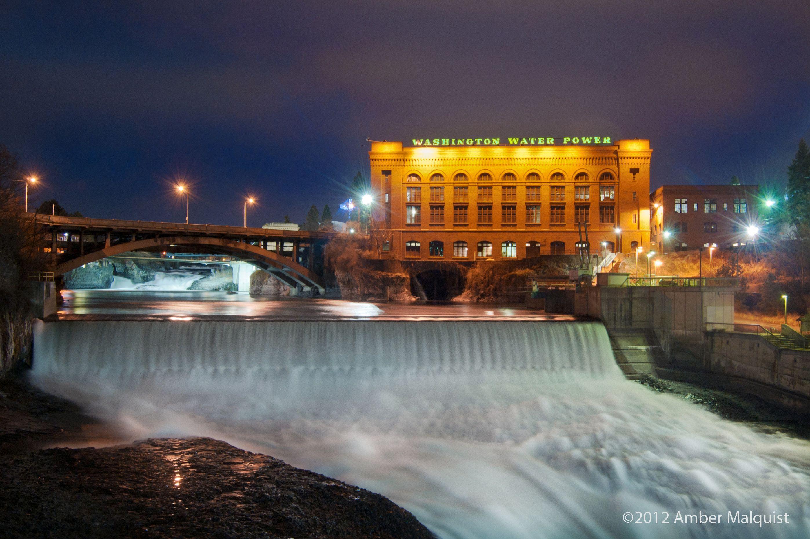 Spokane Falls.