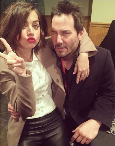 Keanu Reeves Ana De Armas Keanu Reeves Celebrity Crush Heartthrob