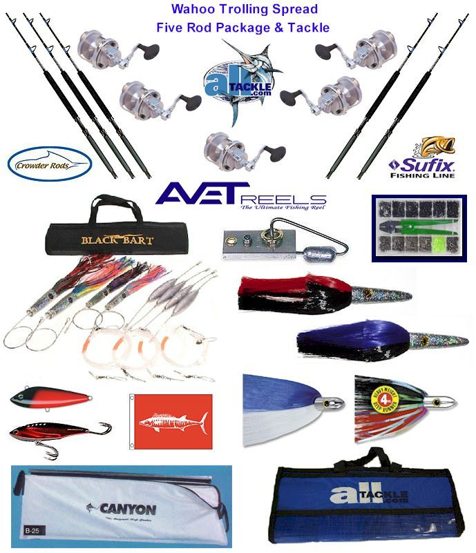 wahoo fishing tackle kit | catamaran fishing | pinterest, Hard Baits