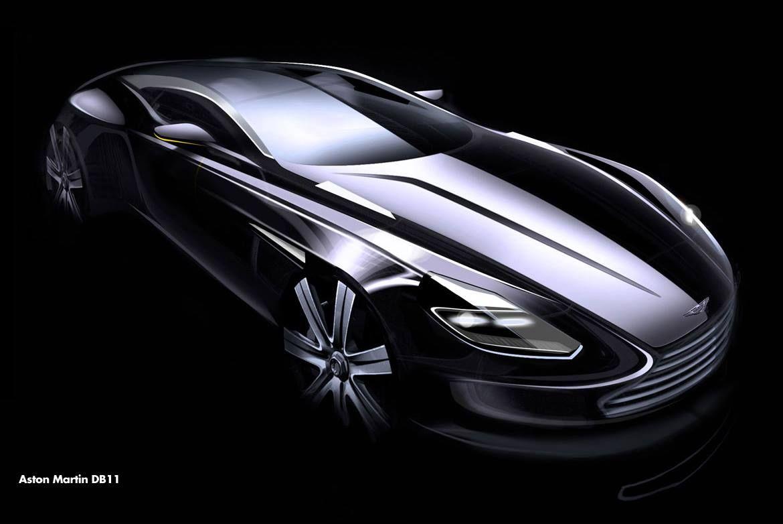 Aston Martin Db11 Sketch Design Sketches Pinterest Aston
