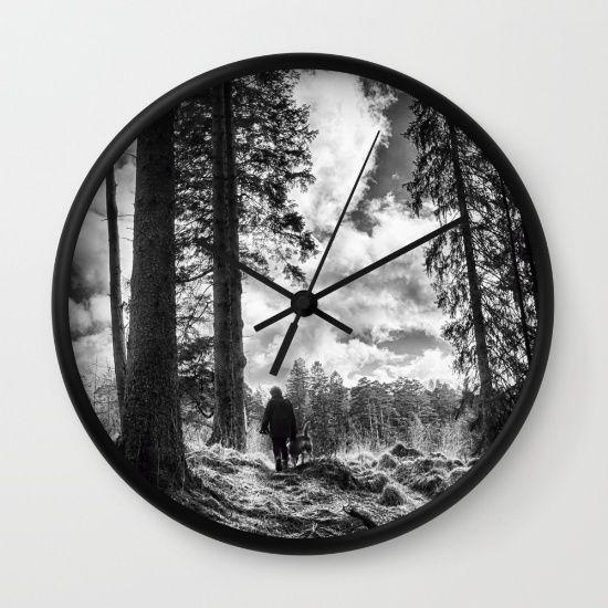 Those Who Wander Wall Clock