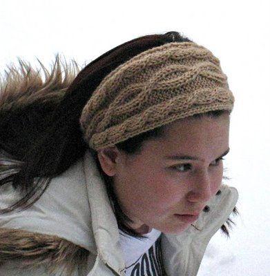 Paulinas Blog Julias Cabled Headband Pattern Free Knitting