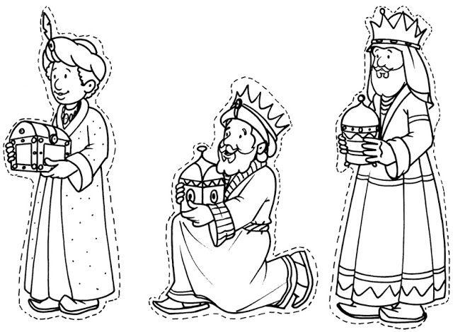 Dibujos Y Plantillas Para Imprimir Reyes Magos Reyes Magos