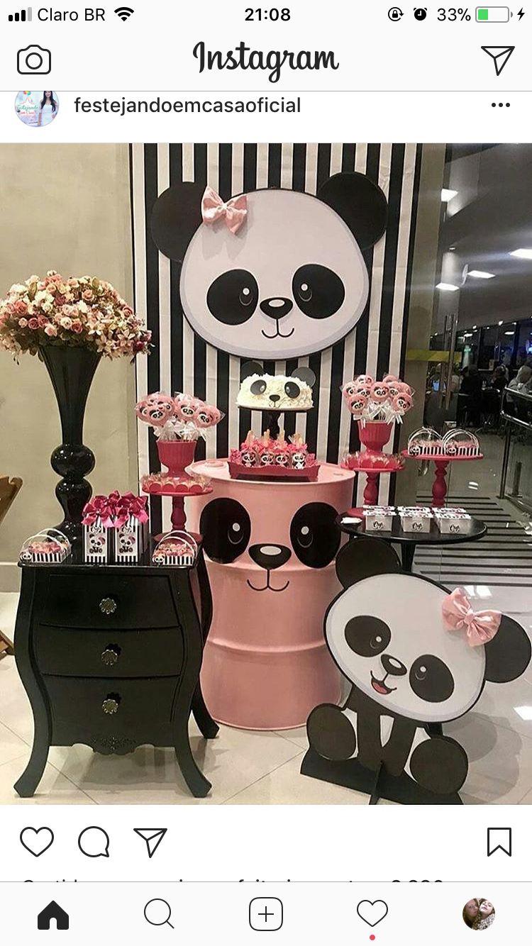 Tematicas Cumpleanos Panda Party Decor Ideas Decoracion Party Kids