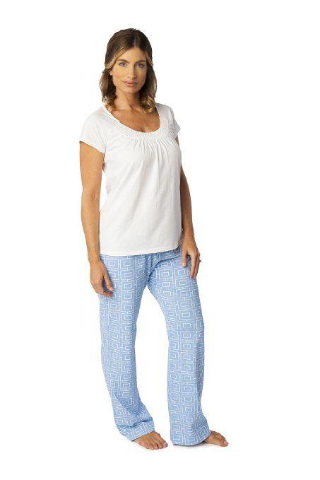 c0110538abbb2 Amazon.com: Baby Be Mine Maternity/Nursing PJ Set: Clothing | Gift ...