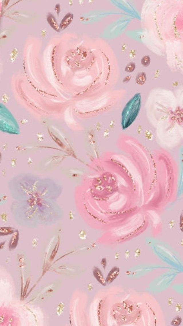 Girly Wallpaper Iphone Wallpaper Pattern Flower Wallpaper Pink Wallpaper Iphone