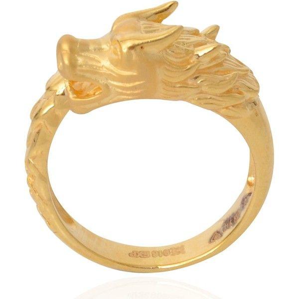 Rings 22KT Dragon Gold Ring