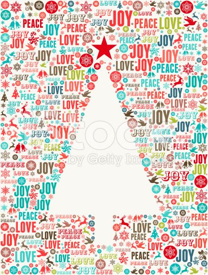 Christmas Tree on Holiday Christmas Background Pattern royalty-free stock vector art