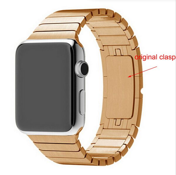 Nice 316L link bracelet stainless steel band for apple watch strap 42mm 38mm with Stealth Buckle space black silver gold  strap Todays' Watch Fashion http://todayswatchfashion.com/products/nice-316l-link-bracelet-stainless-steel-band-for-apple-watch-strap-42mm-38mm-with-stealth-buckle-space-black-silver-gold-strap/ http://todayswatchfashion.com/products/nice-316l-link-bracelet-stainless-steel-band-for-apple-watch-strap-42mm-38mm-with-stealth-buckle-space-black-silver-gold-strap/