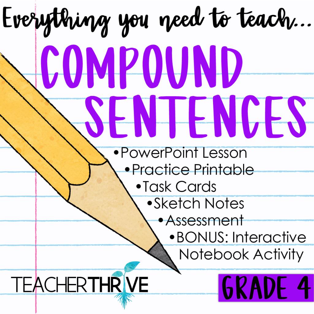 Fourth Grade Grammar Bundle