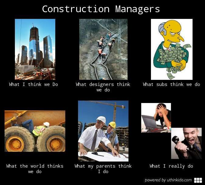 Dreams Construction Company: Construction Manager Meme - Google Search