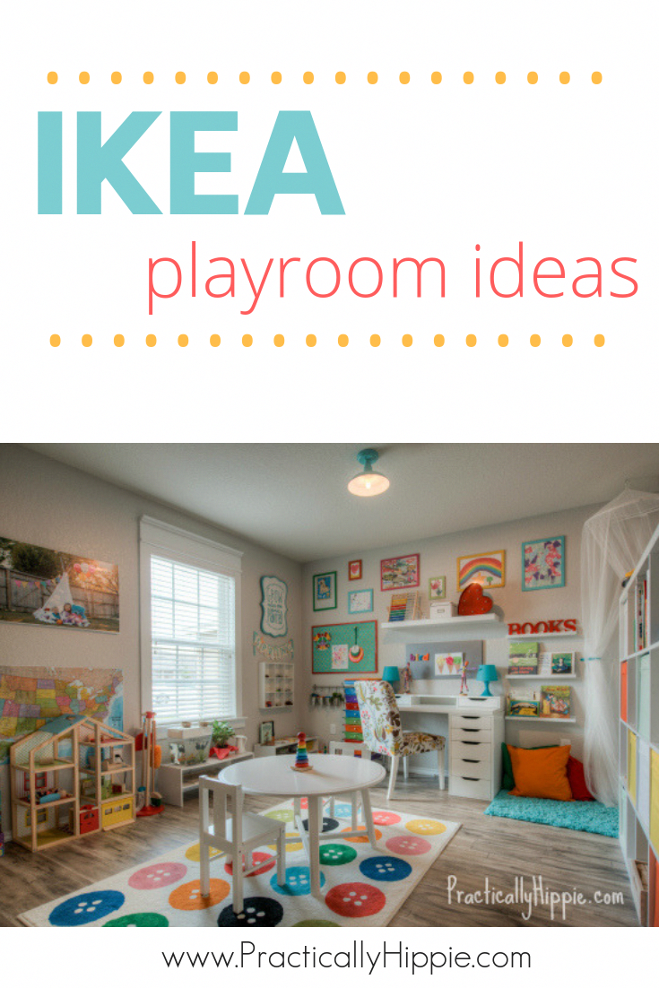 Are You Looking For Playroom Ideas For Girls And Boys This Simple Yet Bright And Colorful Playroom Decor Is All Ikea Playroom Small Playroom Toddler Playroom